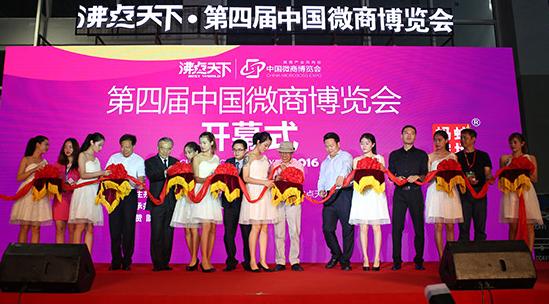 """再续前缘,蚂蚁农场独家赞助""""第四届中国微商博览会"""""""